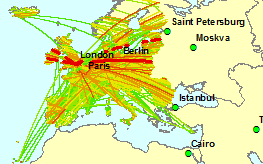 Coverage of international aviation emissions under the airspace approach for EEA