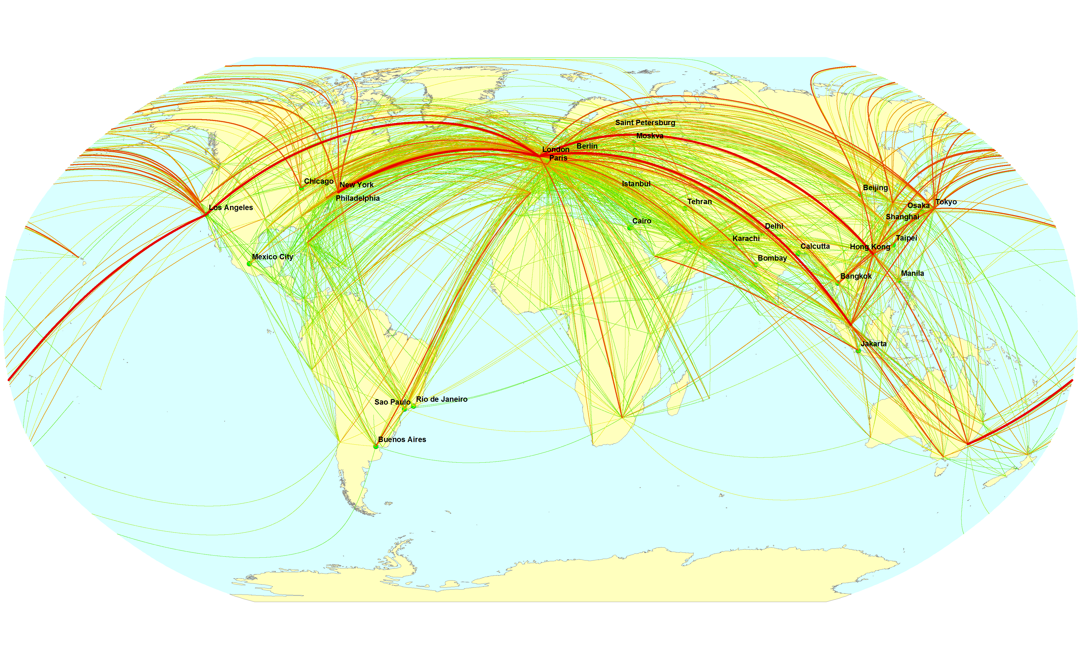 an analysis of the international trade routes Old world trade routes (owtrad) project (formerly old world traditional trade routes (owtrad) project) dr t matthew ciolek,  research school of pacific and asian studies,.
